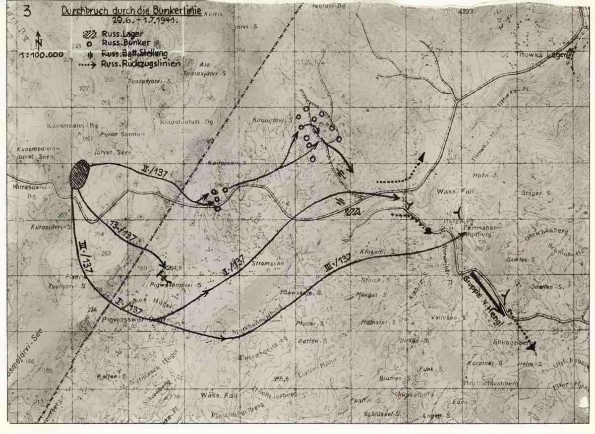 Аэрофотосъемки и карты немцев территории СССР во время Великой Отечественной