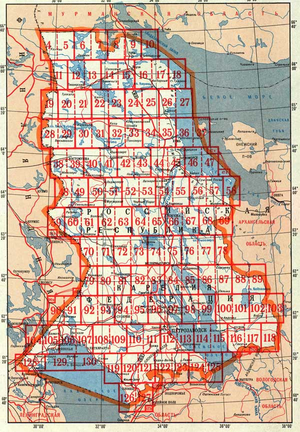 карта карелии скачать бесплатно - фото 10